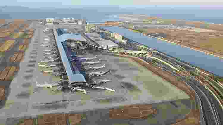 Kansai - Reprodução/Vinci Airports - Reprodução/Vinci Airports