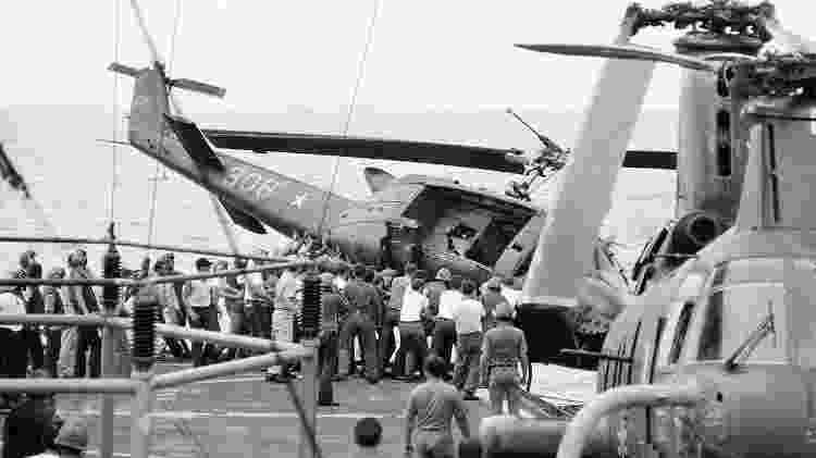 Vietnã - Divulgação/Marinha dos EUA - Divulgação/Marinha dos EUA