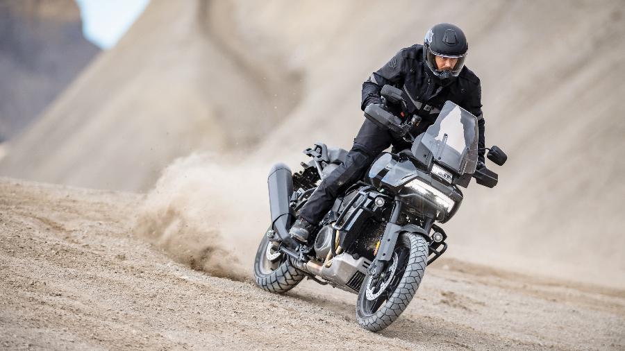 Bigtrail Pan America 1250 foi apresentada hoje mundialmente e coloca a Harley na disputa pelo segmento - Divulgação