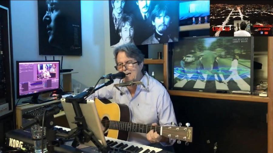 O médico e músico Beto Neves, da banda cover Beatles Again - Beto Neves/Acervo Pessoal