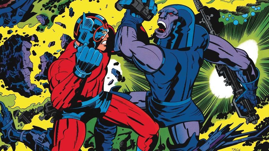 """""""Novos Deuses"""", criação do rei Jack Kirby, não vai mais virar filme - Reprodução/DC"""