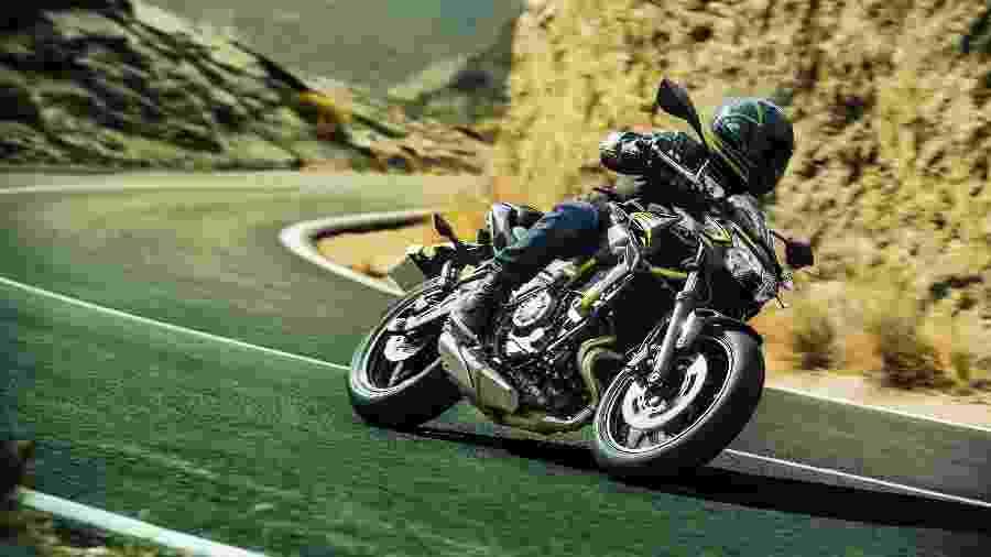 Kawasaki Z 650 2021 passou por face-lift e tem preço sugerido a partir de R$ 37.490 - Divulgação
