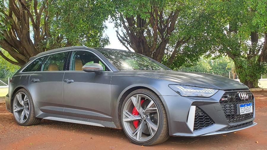 Audi RS6 Avant fez 10,6 km/l em teste - Rafaela Borges/UOL