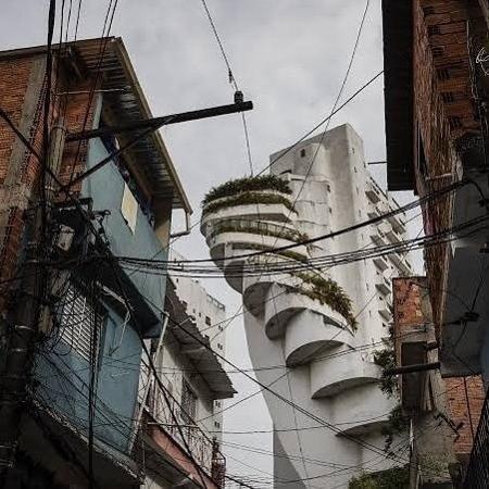 Favelas e Constraste - Adriano Vizoni