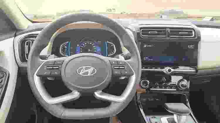 Novo Hyundai Creta 2022 Ultimate interior - Rafaela Borges/UOL - Rafaela Borges/UOL