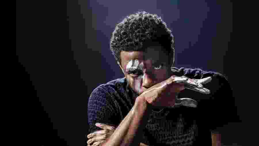 Chadwick Boseman, imortalizado como o Pantera Negra - Reprodução