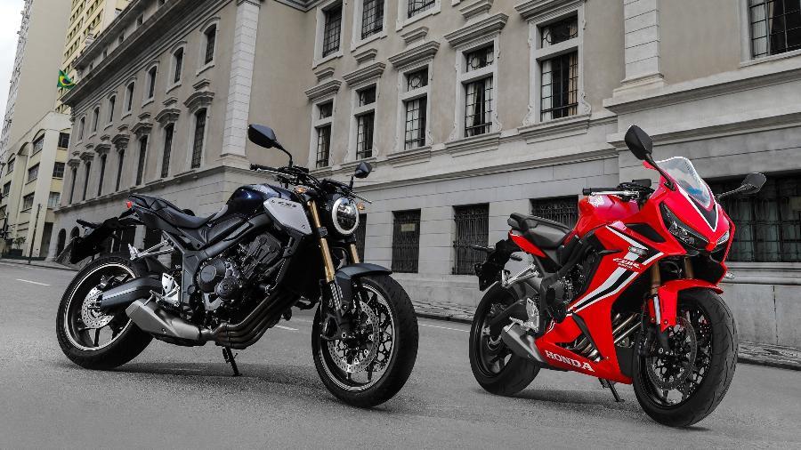 Apresentação da nova linha Honda CB 650, que aconteceria presencialmente em março, foi realizada online no início de julho - Divulgação