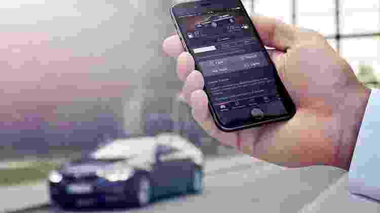 O BMW Connected avisa até mesmo sobre as convocações para recall - BMW/Divulgação - BMW/Divulgação
