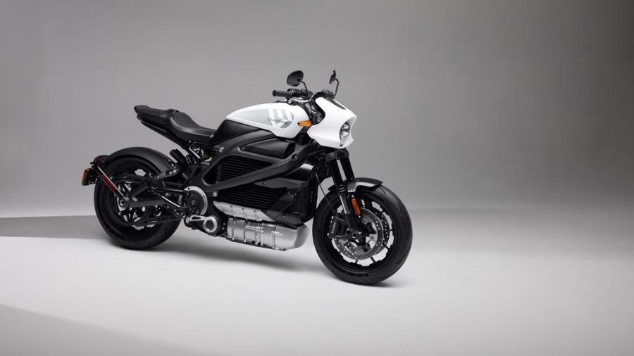 A motocicleta elétrica One da Livewire, nova marca criada pela Harley-Davidson, vai custar US$ 21.995, cerca de R$ 115.600 - Divulgação