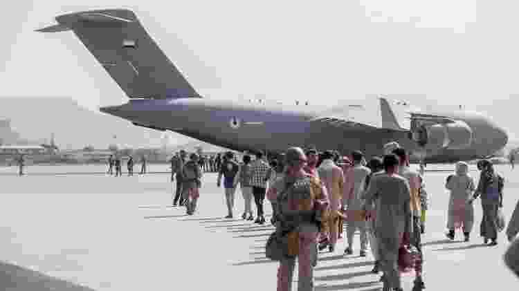 C-17 - Departamento de Defesa dos EUA no Twitter - Departamento de Defesa dos EUA no Twitter