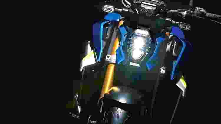 Farol Nova Suzuki GSX-S 1000 - Divulgação - Divulgação
