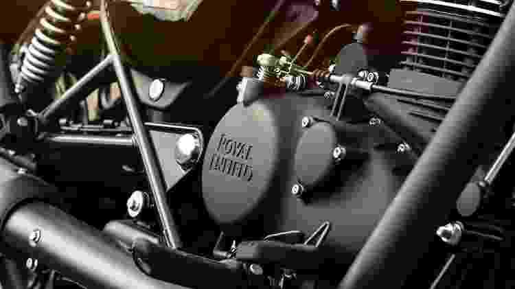 motor Meteor 350  - Divulgação - Divulgação