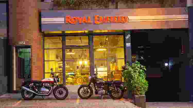 royal enfield fachada - Renato Durães/Infomoto - Renato Durães/Infomoto
