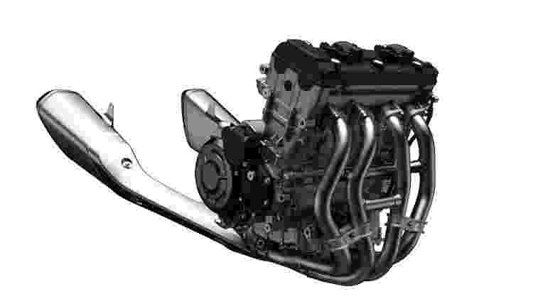 Motor nova Hayabusa - Divulgação - Divulgação