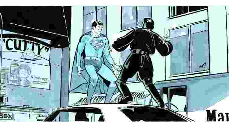 batman89 supesketch - Reprodução/DC Comics - Reprodução/DC Comics