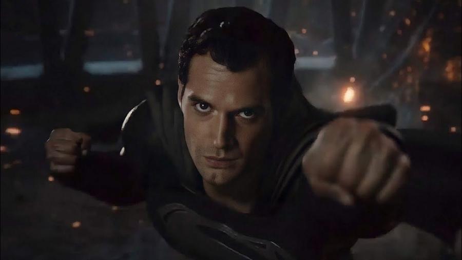 """Henry Cavill como o Superman em """"Liga da Justiça"""" - Warner/HBO Max"""