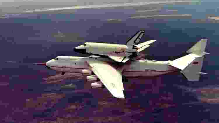 AN-225 Buran URSS - Divulgação/Antonov - Divulgação/Antonov