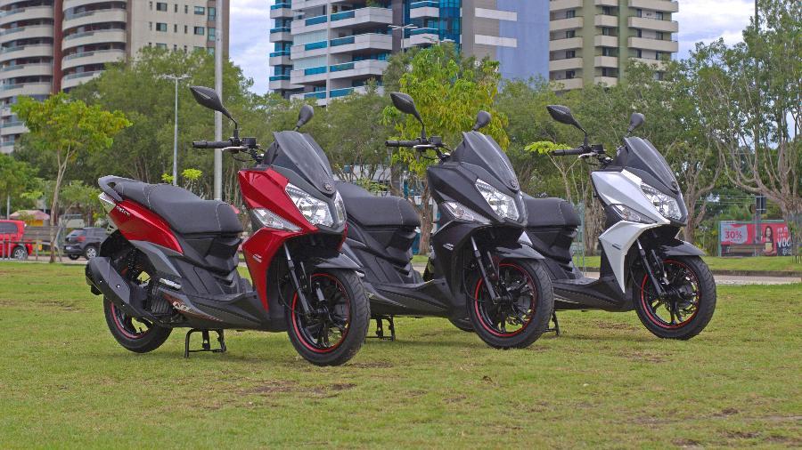 Dafra Cruisym 150 começa a ser vendido em agosto, em três opções de cores  - Divulgação