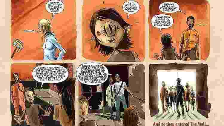 sweet hq - DC Comics/Reprodução - DC Comics/Reprodução