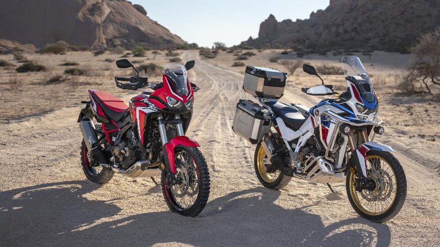 Africa Twin 1100 e Africa Twin 1100 Adventure Sports também terão opção do câmbio DCT; confira preços e versões - Divulgação
