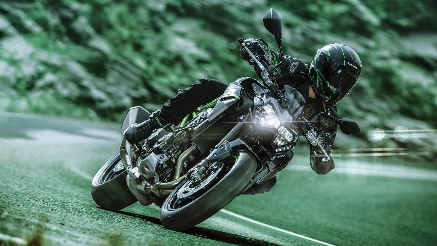 Kawasaki sempre traz novidades mundiais ao evento; em 2019, Z 900 fez sua estreia no Brasil durante a feira - Divulgação