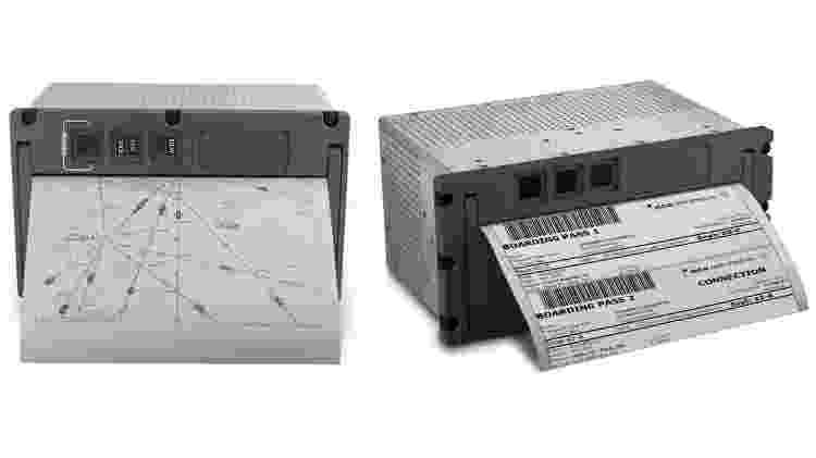 Impressora avião - Reprodução/AstroNova - Reprodução/AstroNova