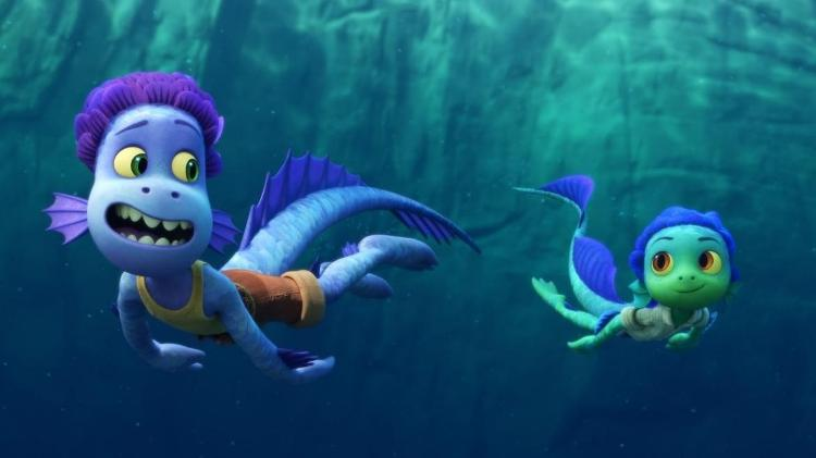 luca monstros - Pixar/Disney - Pixar/Disney
