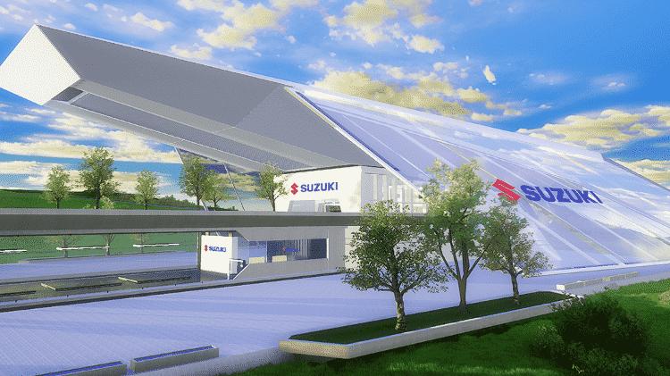 Salão de Motos Suzuki - Divulgação - Divulgação