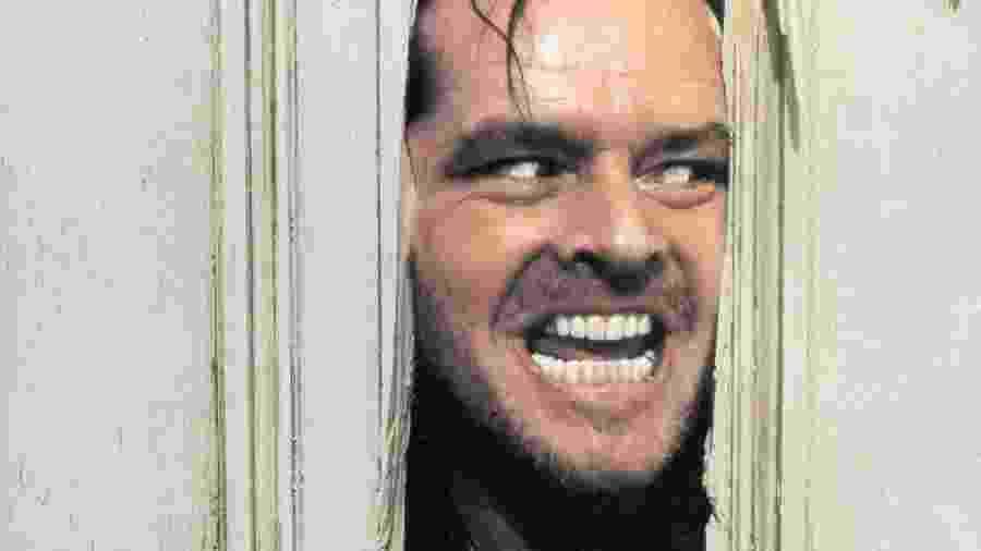 "Jack Nicholson em ""O Iluminado"" - Warner"