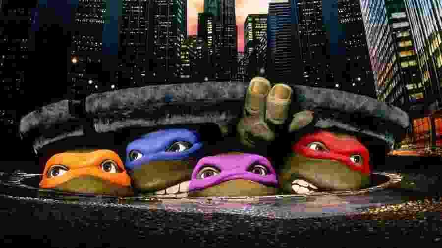"""""""As Tartarugas Ninja"""", filme de 1990 - Reprodução"""