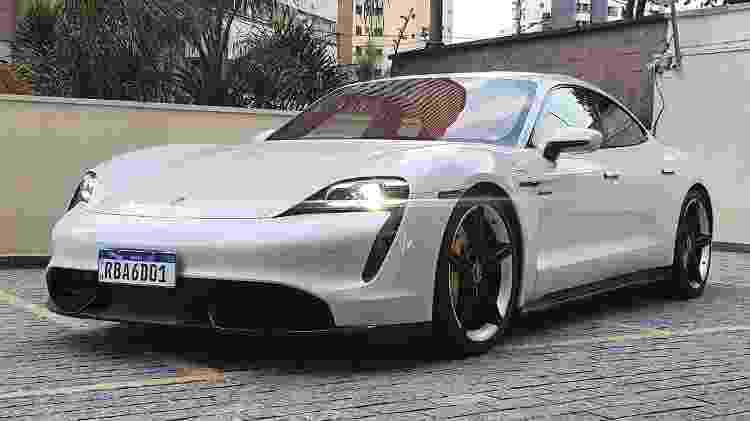 Porsche Taycan Turbo S - Rafaela Borges/UOL - Rafaela Borges/UOL