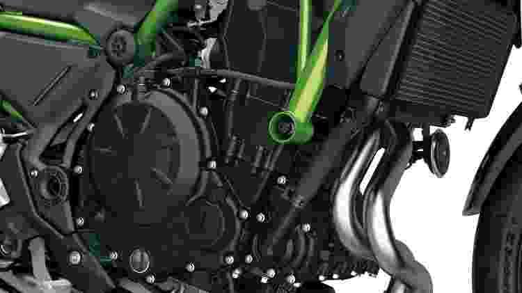 motor 650cc Kawasaki - Divulgação - Divulgação