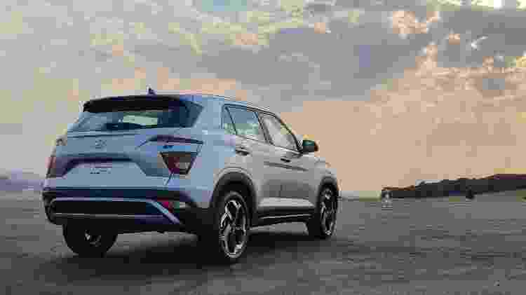 Novo Hyundai Creta 2022 Ultimate traseira - Rafaela Borges/UOL - Rafaela Borges/UOL