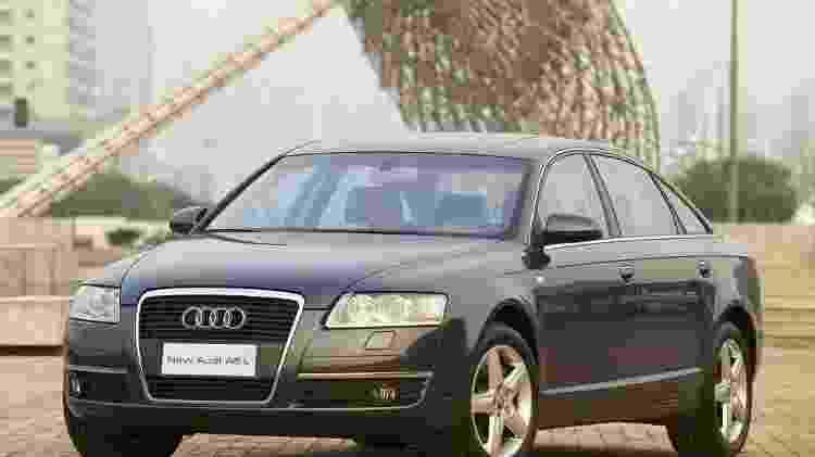 Audi A6 2004 - Divulgação - Divulgação
