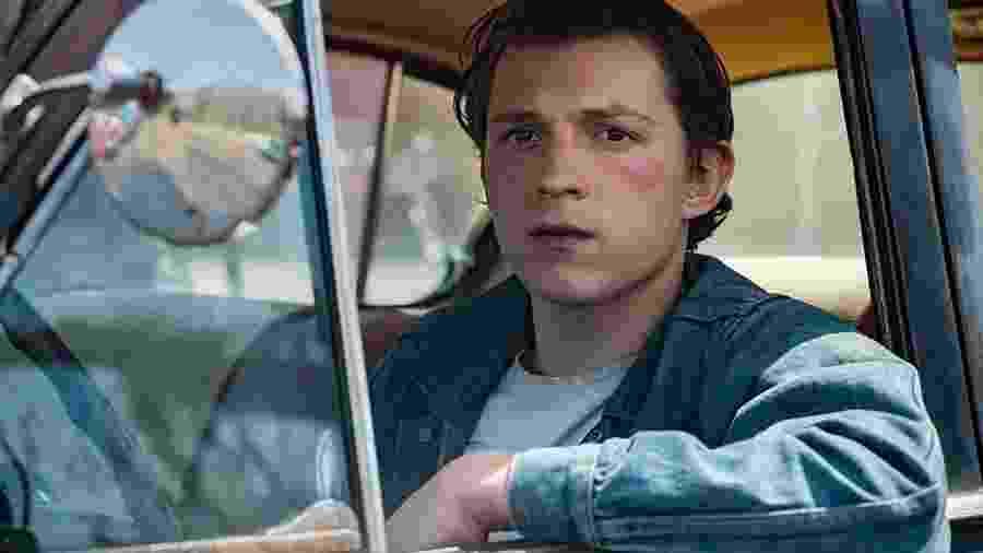"""Tom Holland em """"O Diabo de Cada Dia"""" - Netflix"""