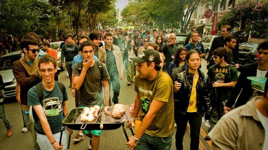 Churrascão de gente diferenciada no Higienópolis - Reprodução/Luís Eduardo Catenacci/Flickr