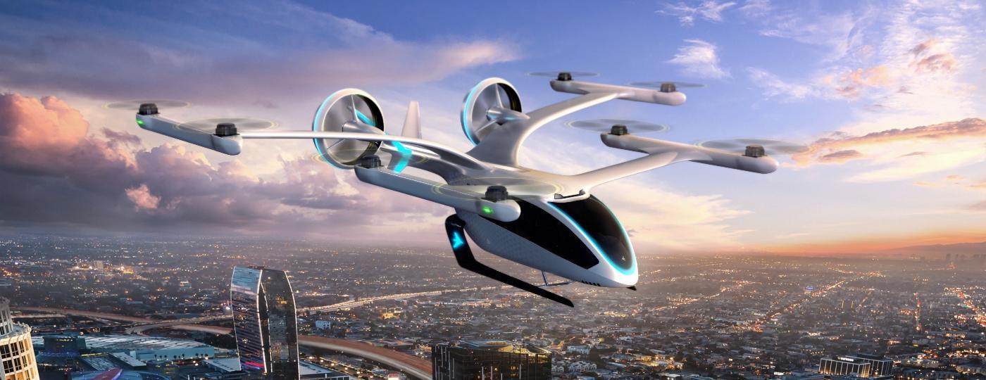 eVTOL: veículos voadores elétricos como o Eve, da Embraer, vêm recebendo aportes bilionários mundo afora - Divulgação/Embraer