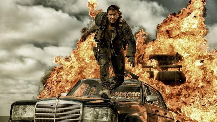 """Tom Hardy em """"Mad Max: Estrada da Fúria"""" - Warner"""