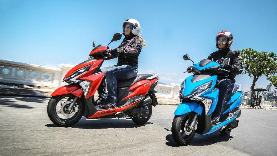Honda Elite 125 é a terceira scooter mais vendida, com mais de 10.000 unidades emplacadas até julho  - Divulgação