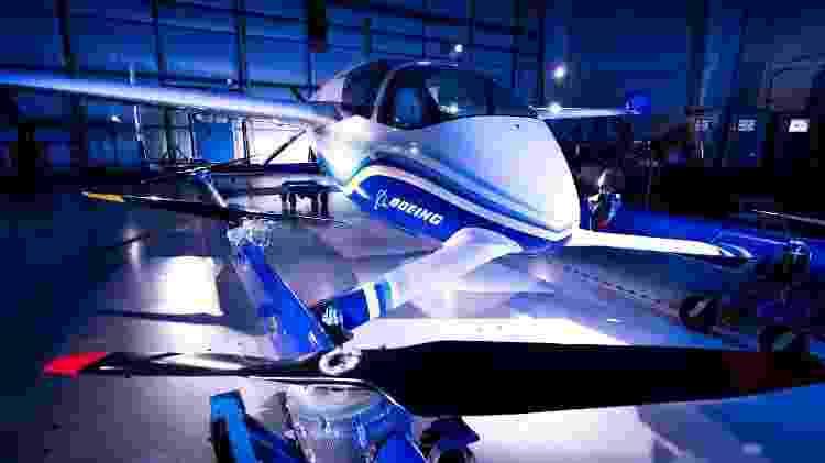 Protótipo do PAV (Passenger Air Vehicle), desenvolvido pela Aurora Flight Sciences. da Boeing - Divulgação/Boeing - Divulgação/Boeing