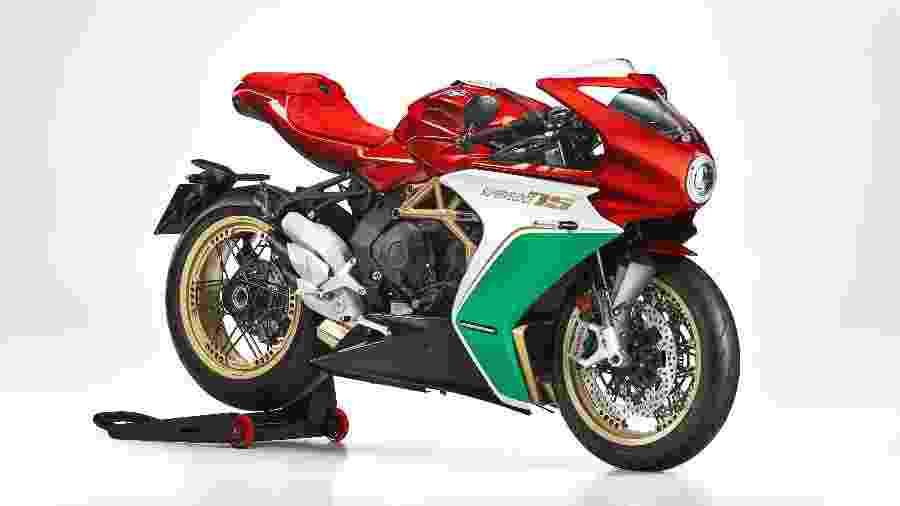 Série limitada da Superveloce se esgotou em segundos; modelo de 800cc foi vendido por cerca de R$ 160 mil - Divulgação