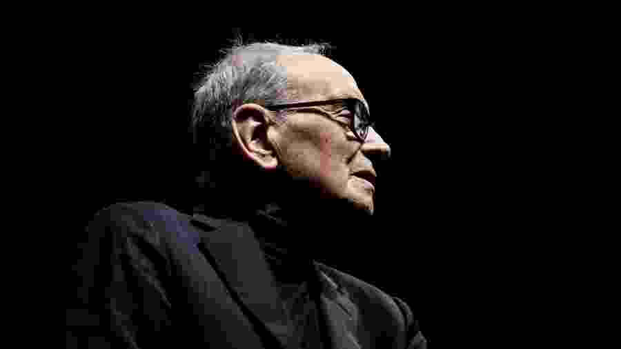 O compositor Ennio Morricone - Christoph Soeder/dpa Picture-Alliance via AFP