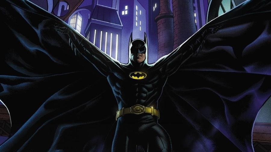"""""""Batman """"89"""" continua nos quadrinhos os filmes de Tim Burton - Reprodução/DC Comics"""