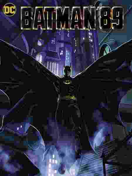batman89 batposter - Reprodução/DC Comics - Reprodução/DC Comics