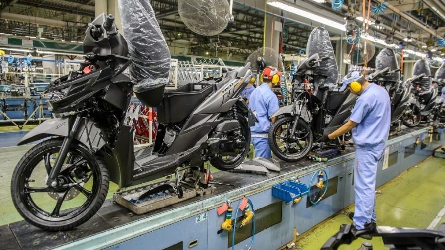 Fábrica da Yamaha em Manaus (AM) irá suspender a montagem de algumas motocicletas entre 3 e 12 de maio   - Divulgação