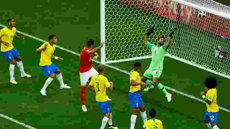 Gol Suíça vale este - REUTERS/Jason Cairnduff - REUTERS/Jason Cairnduff