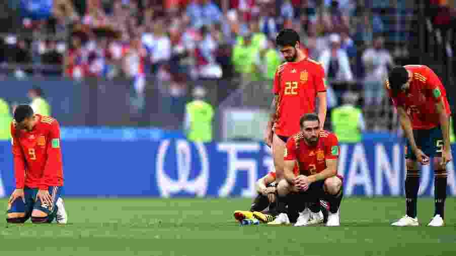 8a99062b2b Brasileiro do time da Espanha tira lição após queda