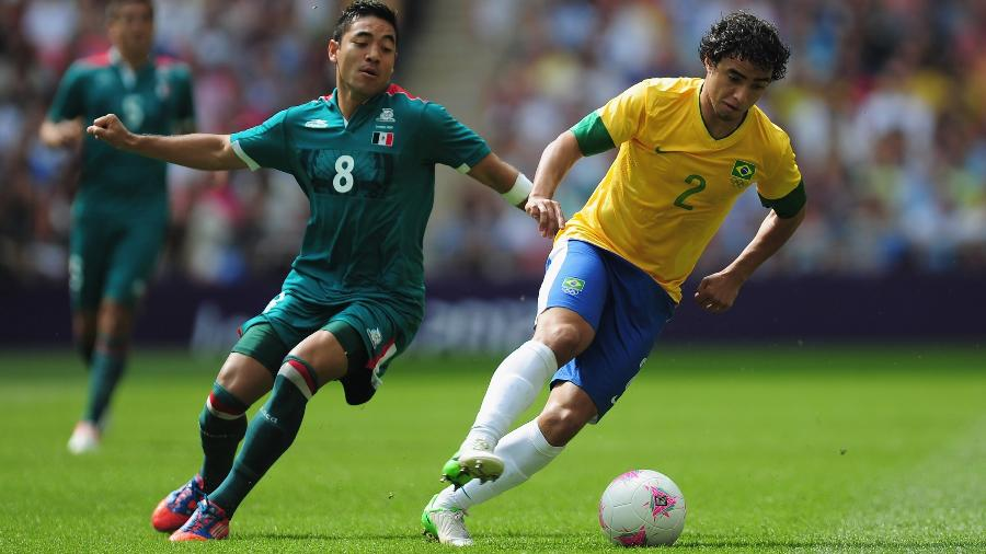 Lateral foi titular na final masculina do futebol na Olimpíada de 2012, em Londres; na ocasião, México bateu o Brasil - Jamie McDonald - FIFA/FIFA via Getty Images