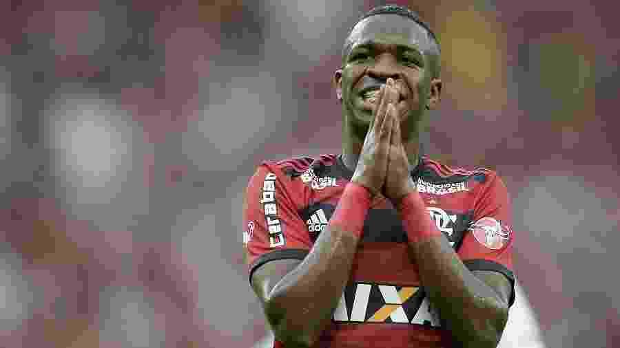 Vinícius Júnior é a venda mais cara da história do Flamengo - Alexandre Loureiro/Getty Images