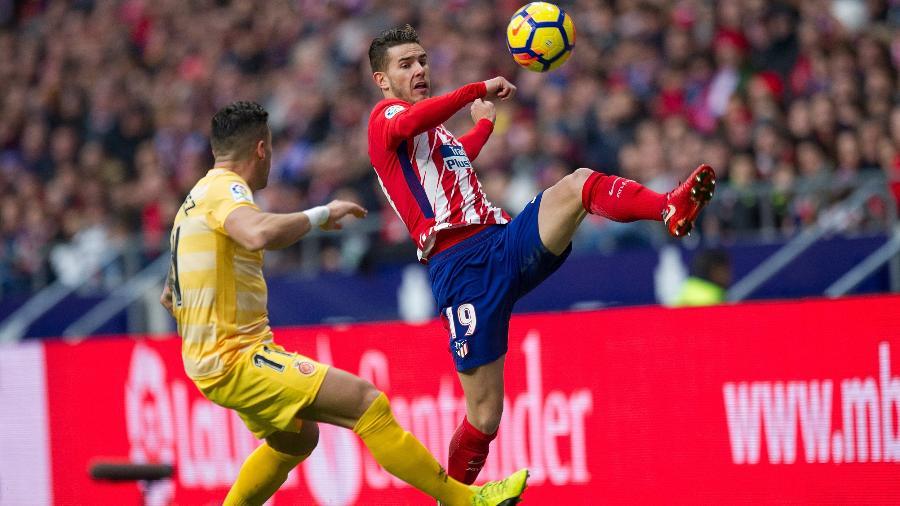 Lucas Hernández cresceu na Espanha e está desde a base no Atlético de Madri - Denis Doyle/Getty Images